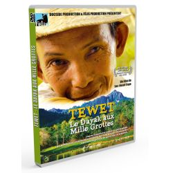 TEWET , the Dayak of Thousand Caves - DVD